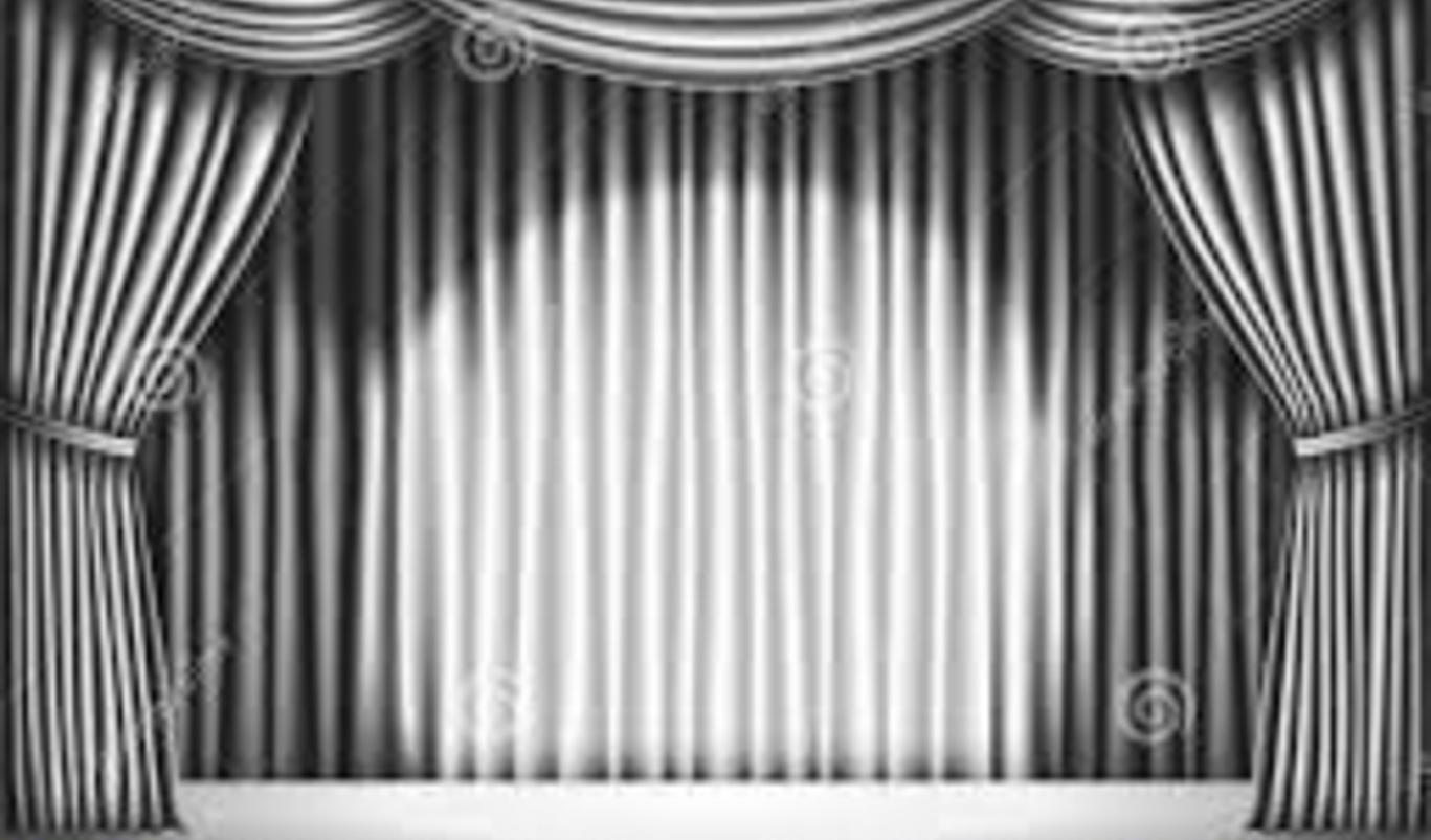Black theatre curtain -  Keep An Eye Out Here For Future Productions