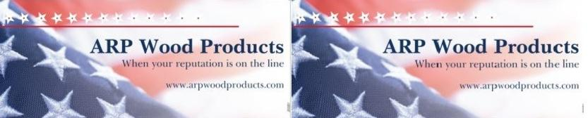 ARP Wood Products Sponsor