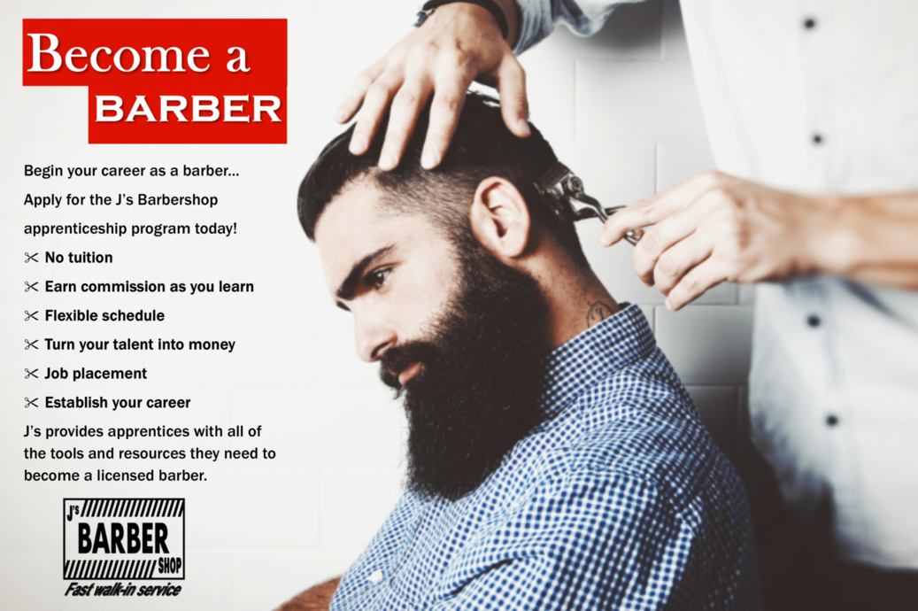 Become a barber