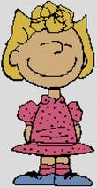 Cross Stitch chart of Cross Stitch Character Sally Brown