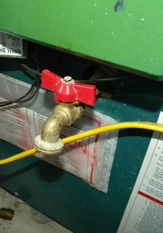 How to fix a leaking boiler relief valve and expansion tank. www.DIYeasycrafts.com