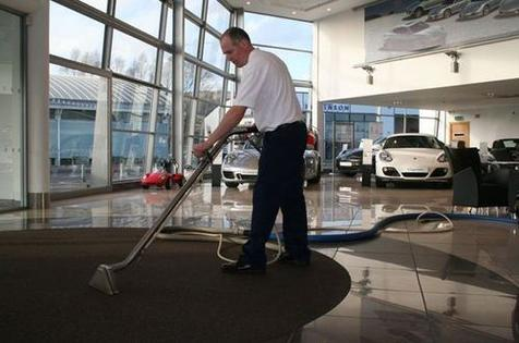 SHOW ROOM CLEANING SERVICES