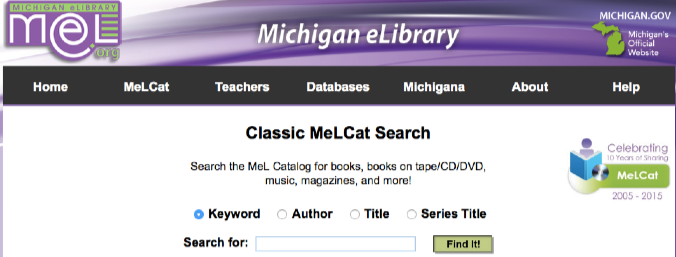 online catalog search