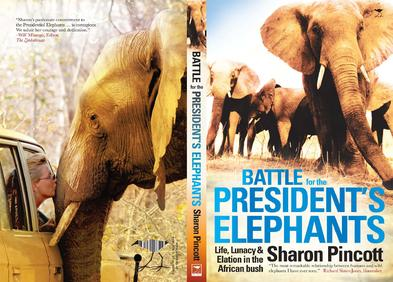 d3c716bda Elephant Dawn - Sharon Pincott - Presidential Elephants of Zimbabwe ...