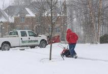 Snow Removal, Plowing, Residential Snow Removal, HOA Snow Removal, Dublin Ohio, Powell Ohio, Delaware Ohio, Zero Tolerance Snow Removal, Ice Removal, Plow