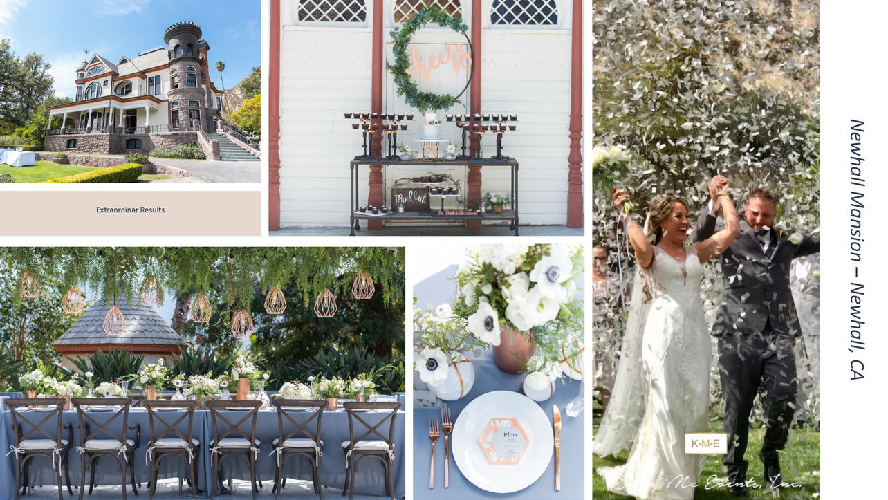 Newhall Mansion Wedding Newhall California