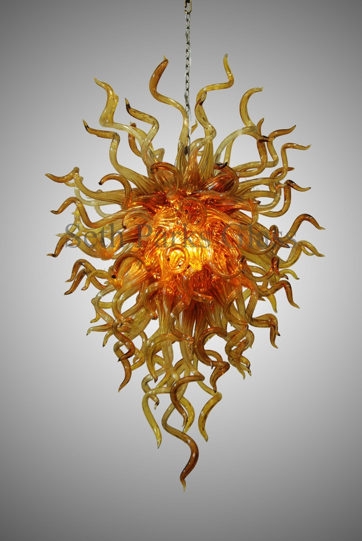 Hand blown glass chandeliers hand blown glass chandeliers view on mobile aloadofball Image collections