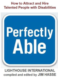 """Perfectly Able"" Book cover"