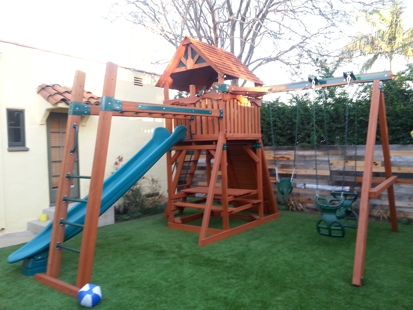 Swing Set Pros Play Set Swing Set Swing Installation