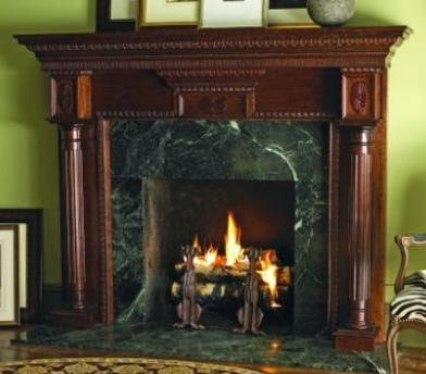 Hearth accessories and mantels