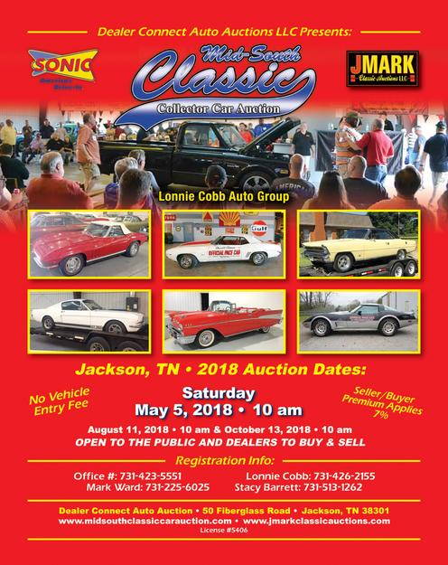 Hollywood Casino Classic Car Auctions