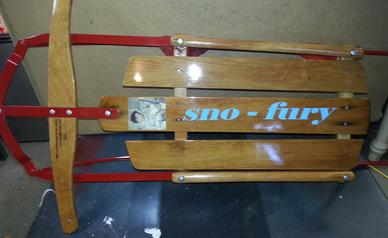 Sno-Fury sled