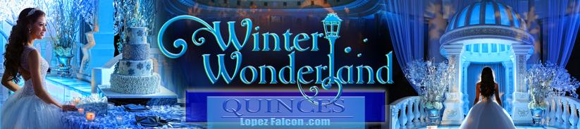WINTER WONDERLAND QUINCEANERA PARTY MIAMI QUINCES QUINCE 15 ANOS PHOTOGRAPHY VIDEO DRESSES PHOTO SHOOT WINTERLAND PARTIES PARTY