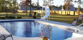 Vinyl In Ground Swimming Pool Installation