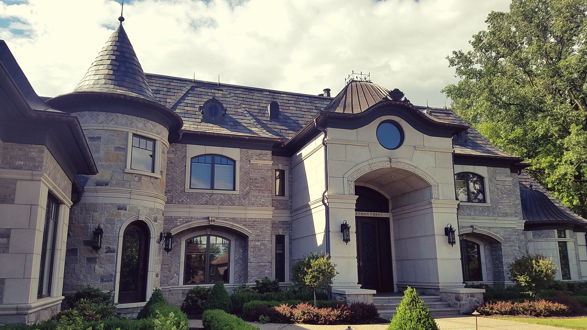 french chateau style residence bloomfield twp mi status completed 2016