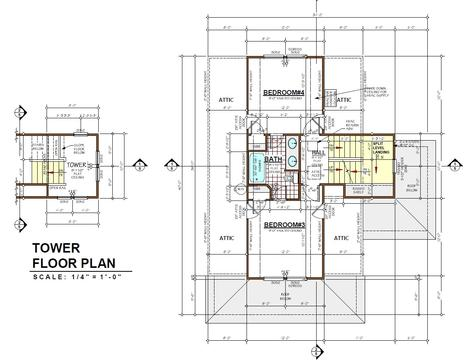 Click to enlarge - Second Floor Plans