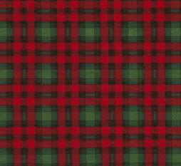 Red and Green Christmas Plaid Flannel. Red and Green Flannel Fabric