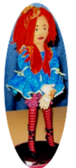 Raggedy doll all cloth doll design