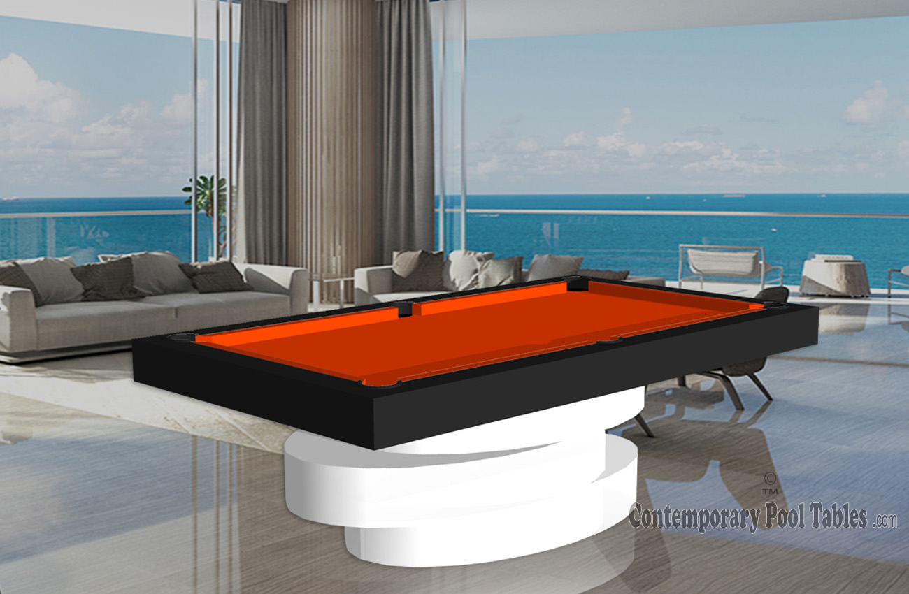 Custom Pool Tables Contemporary Pool Table Modern Pool Tables - Modern pool table designs