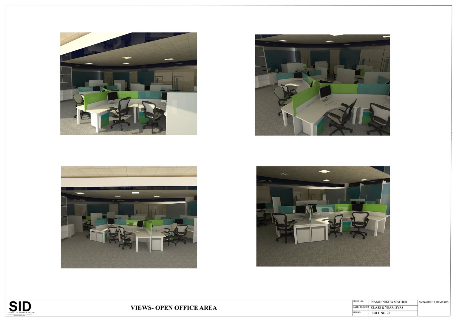 These Are A Selected Few Of The Projects Completed As Part Interior Design Course At School Rachna Sansad Mumbai