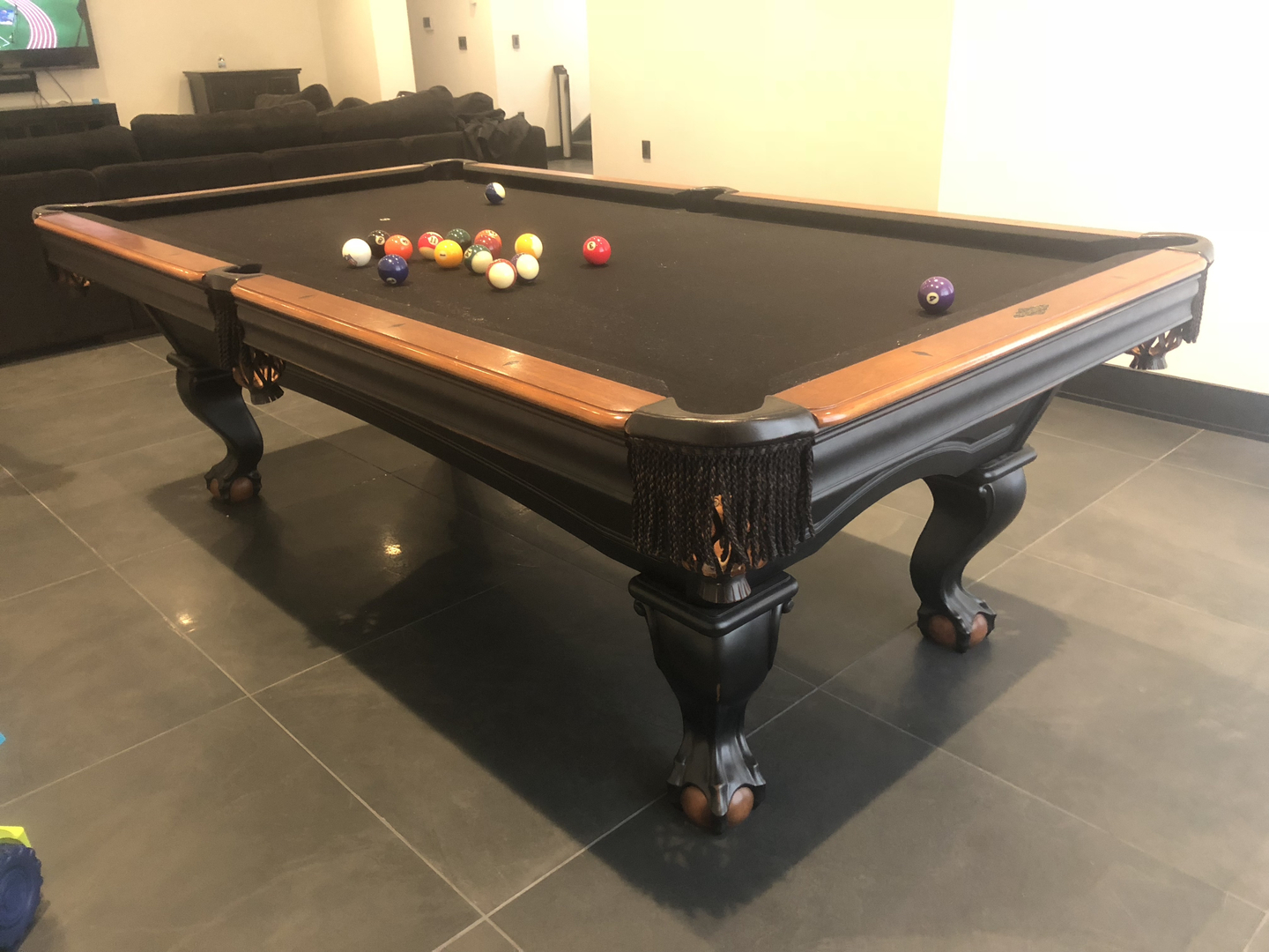 Used Pool Tables Used Pool Tables For Sale Valley Billiards - Brunswick richmond pool table