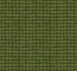 Green Houndstooth Flannel Woolies Flannel