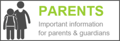 Graphic of parent and child