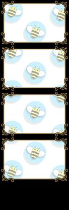 Bumblebee Booths Photo Strip sample #8