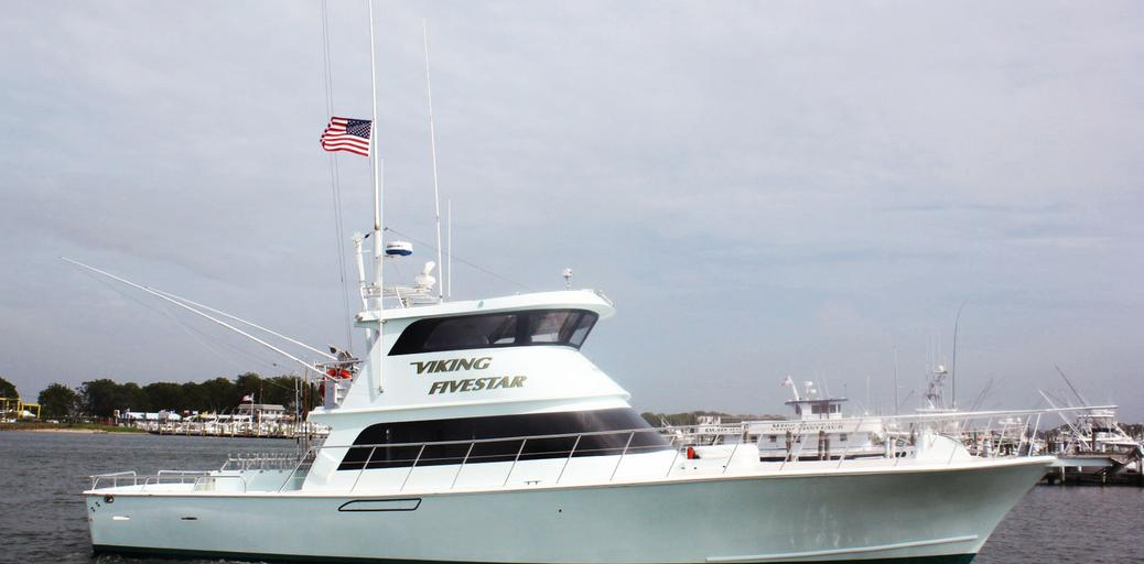 Yacht charter viking fivestar montauk ny for Viking fishing report montauk