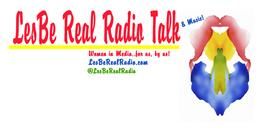 LesBe Real Radio Talk logo