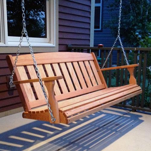 PORCH SWING INSTALLATION