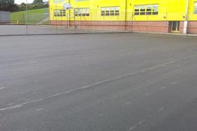 Tarmac play areas, Astor college