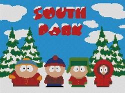 South Park Christmas childrens cross stitch charts patterns