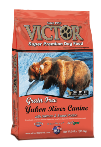 Victor Grain Free Yukon River Dog Food with Salmon and Sweet Potato