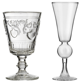 Versaille Absinthe Glass And Goblet