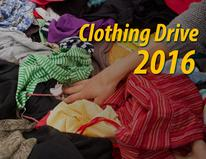 Clothing Drive 2016