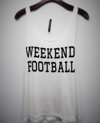 Weekend Football Tank