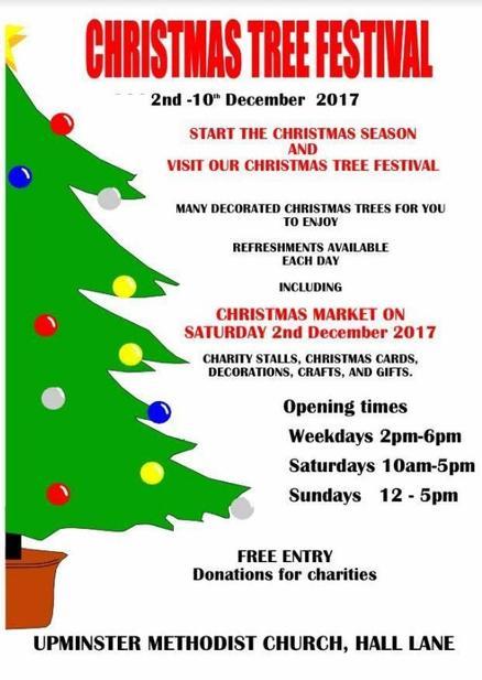 Christmas Charities.Christmas Tree Festival