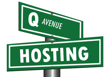 Q AVENUE HOSTING LOGO