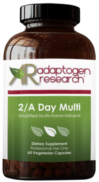 Twice Daily Formula - 2 A Day Multi - Adaptogen Research