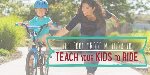 Teach your kids to ride a bike