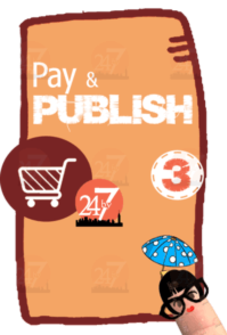 Publish your book - self publish India - payment confirms publishing - 24by7publishing.com