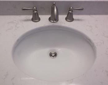 Cambria Torquay Oval Porcelain Undermount Sink