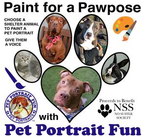 Paint for a Pawpose Pet Portrait Fun No Suffer Society