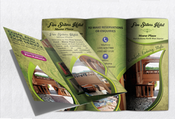 Eurada Print designs your Hotel Brochure from SCRATCH. No templates...and better Quality and Prices
