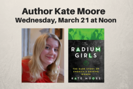 Author Kate Moore