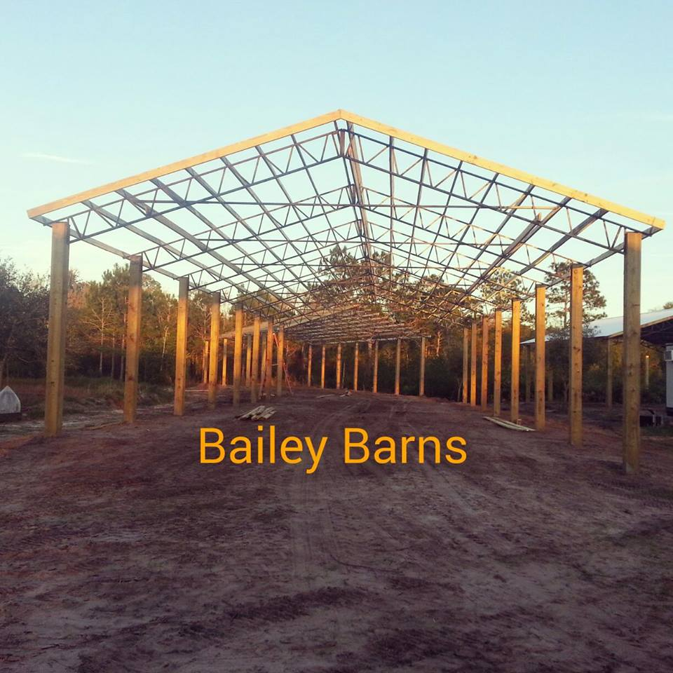 blackwater truss to systems pole welcome barns for steel trusses