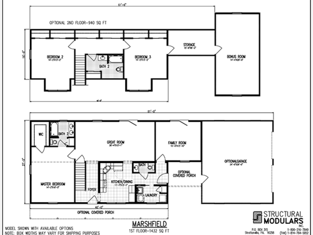 Marshfield for Marshfield homes floor plans
