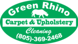 Green Rhino carpet cleaning logo