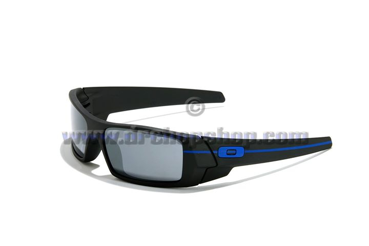 a9e9006316  235 Oakley Gascan Thin Blue LIne Subdued Flag Revant Elite Titanium  Polarized